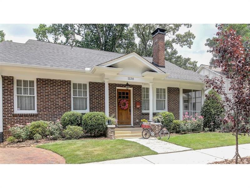 1138 Saint Louis Place NE, Atlanta, GA 30306 (MLS #5750202) :: North Atlanta Home Team