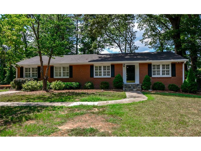 3508 Rockhaven Circle NE, Atlanta, GA 30324 (MLS #5750608) :: North Atlanta Home Team