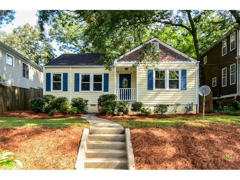 2270 1st Avenue NE, Atlanta, GA 30317 (MLS #5751496) :: North Atlanta Home Team