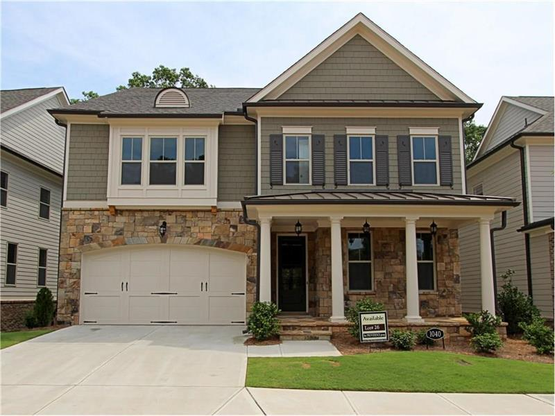 1040 Hargrove Point Way, Alpharetta, GA 30004 (MLS #5756639) :: North Atlanta Home Team