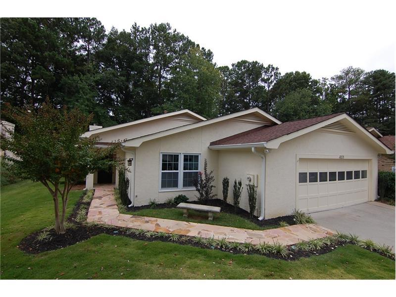 4321 Village Oaks Lane, Dunwoody, GA 30338 (MLS #5758817) :: North Atlanta Home Team