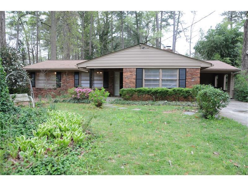 1378 Brookforest Drive NE, Atlanta, GA 30324 (MLS #5759086) :: North Atlanta Home Team