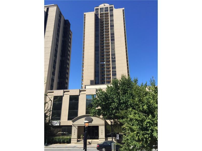 1280 W Peachtree Street NW #1802, Atlanta, GA 30309 (MLS #5760133) :: North Atlanta Home Team