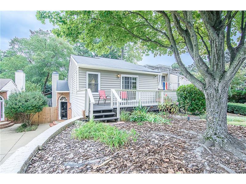 1823 Rockridge Place NE, Atlanta, GA 30324 (MLS #5760444) :: North Atlanta Home Team