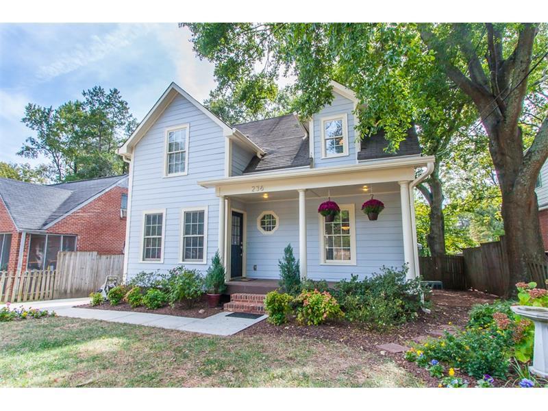 236 W Hill Street, Decatur, GA 30030 (MLS #5760845) :: North Atlanta Home Team