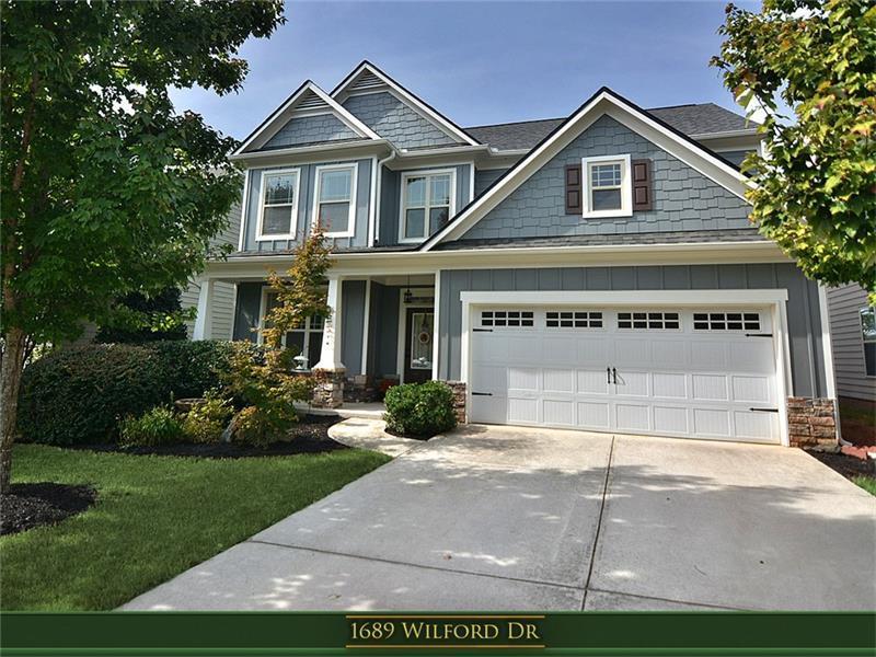 1689 Wilford Drive, Lawrenceville, GA 30043 (MLS #5762116) :: North Atlanta Home Team