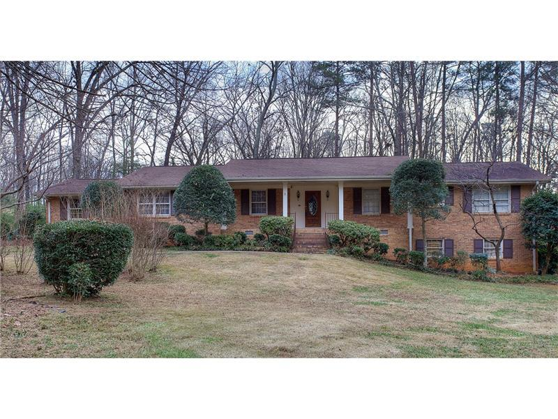 5401 Rosser Road, Stone Mountain, GA 30087 (MLS #5788611) :: Carrington Real Estate Services