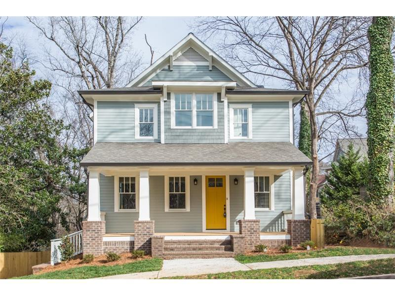 321 Southerland Terrace NE, Atlanta, GA 30307 (MLS #5789783) :: Carrington Real Estate Services