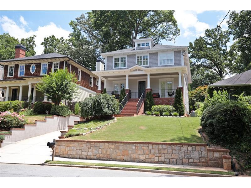 1417 Wessyngton Road, Atlanta, GA 30306 (MLS #5790020) :: Carrington Real Estate Services