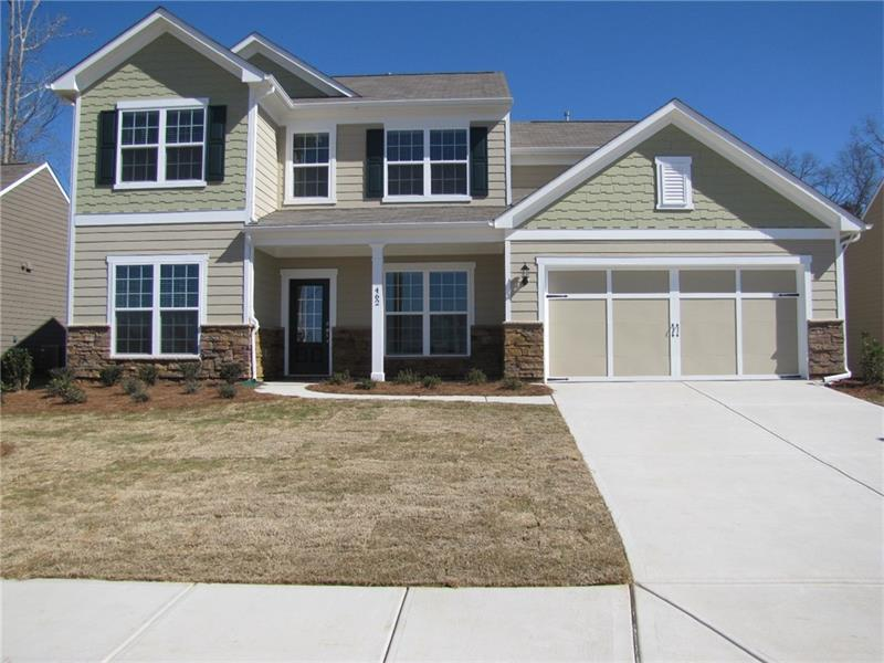 462 Spring View Drive, Woodstock, GA 30188 (MLS #5810636) :: Carrington Real Estate Services