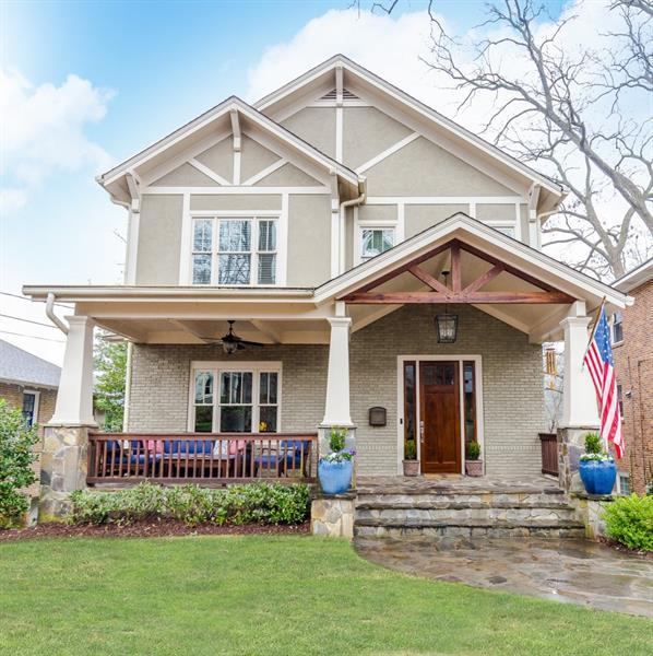 875 Arlington Place NE, Atlanta, GA 30306 (MLS #5968138) :: The Zac Team @ RE/MAX Metro Atlanta