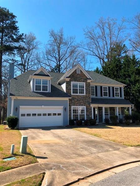 1542 Hampton Woods Drive, Lawrenceville, GA 30043 (MLS #5978706) :: Carr Real Estate Experts