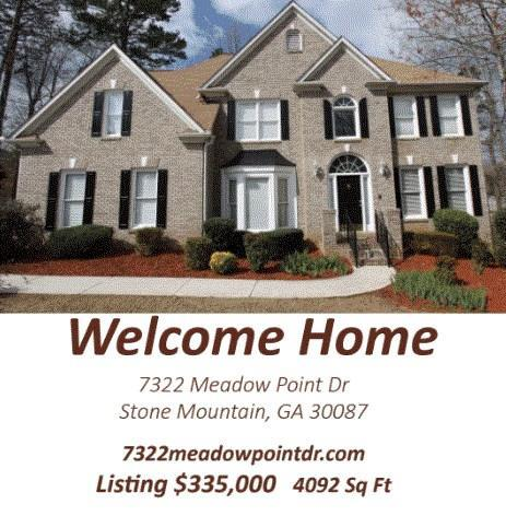 7322 Meadow Point Drive, Stone Mountain, GA 30087 (MLS #5980635) :: North Atlanta Home Team
