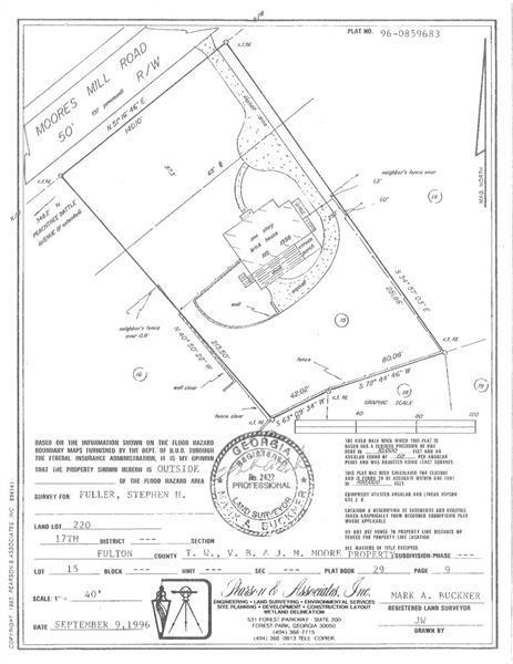1558 Moores Mill Road NW, Atlanta, GA 30327 (MLS #5999326) :: Carr Real Estate Experts