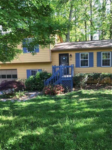 840 Wells Circle SE, Smyrna, GA 30080 (MLS #6000157) :: North Atlanta Home Team