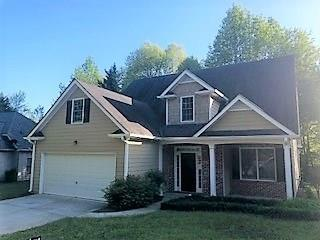 309 Spring Hill Drive, Canton, GA 30115 (MLS #6005975) :: The Russell Group