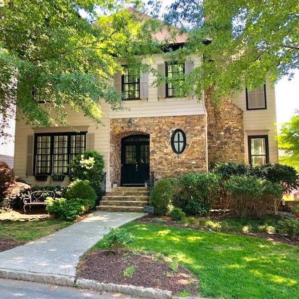 1527 Markan Drive NE, Atlanta, GA 30306 (MLS #6011685) :: RCM Brokers