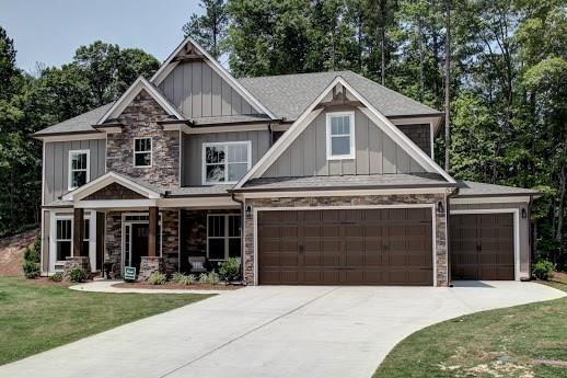28 Branchcreek Pass SE, Cartersville, GA 30121 (MLS #6030776) :: The Russell Group