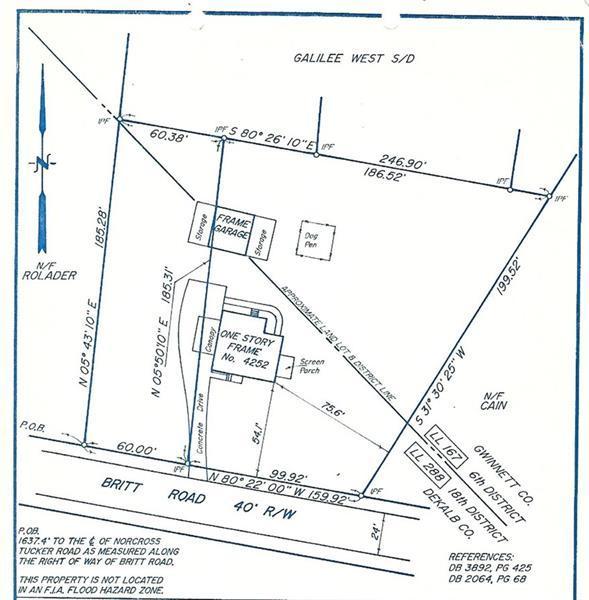 4252 Britt Road, Tucker, GA 30084 (MLS #6038622) :: Iconic Living Real Estate Professionals