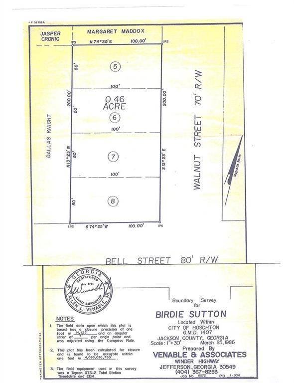54 Walnut Street, Hoschton, GA 30548 (MLS #6060816) :: North Atlanta Home Team