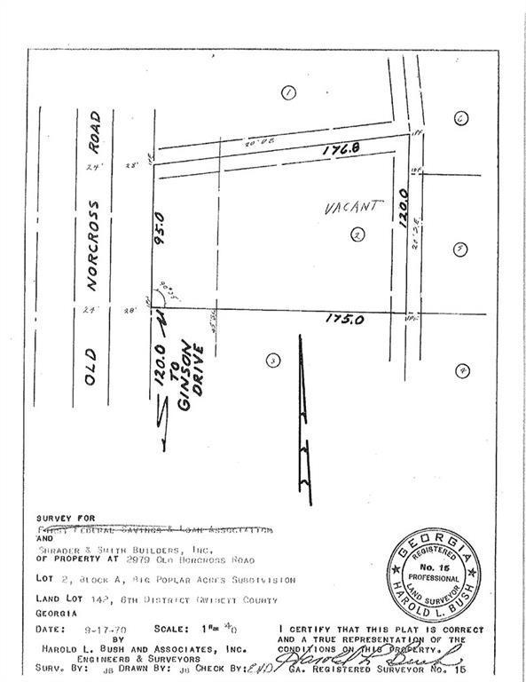 0000 Old Norcross Tucker Road, Tucker, GA 30084 (MLS #6071428) :: North Atlanta Home Team