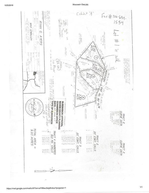 291 Moccasin Gap Road, Lula, GA 30554 (MLS #6083528) :: Hollingsworth & Company Real Estate