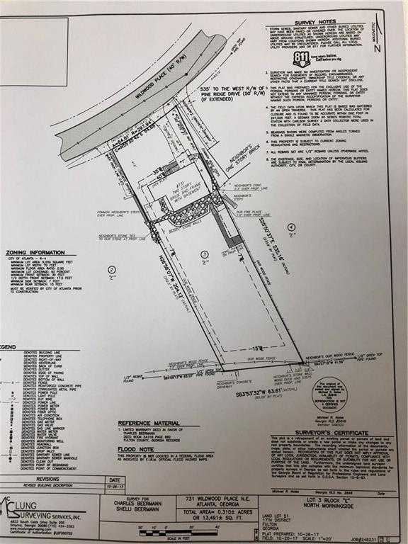 731 Wildwood Place NE, Atlanta, GA 30324 (MLS #6087601) :: The Cowan Connection Team