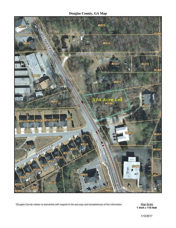 6886 S Sweetwater Road, Lithia Springs, GA 30122 (MLS #6119482) :: North Atlanta Home Team