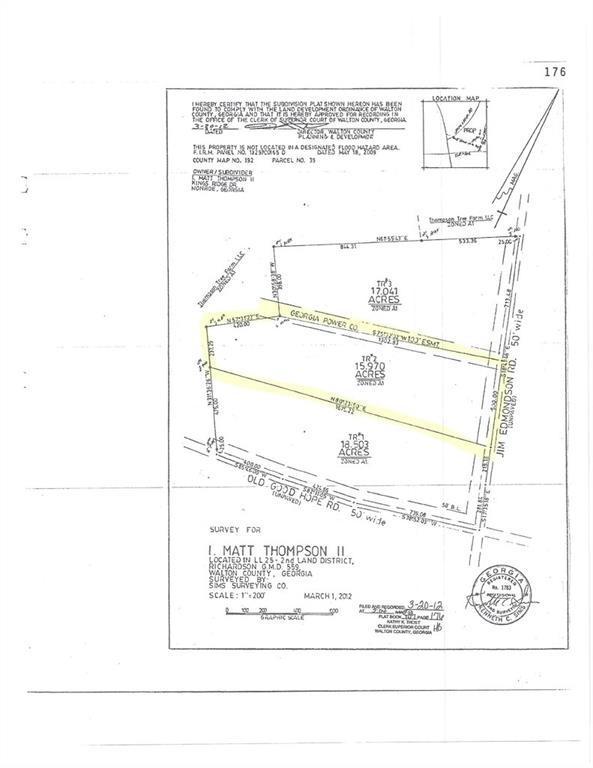 00 Jim Edmondson Road, Good Hope, GA 30641 (MLS #6120352) :: Team Schultz Properties