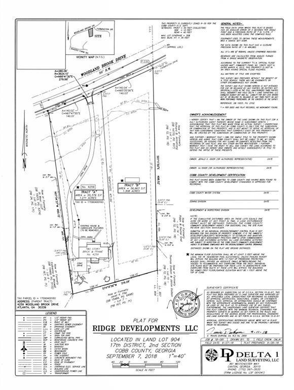 4245 Woodland Brook Drive, Atlanta, GA 30339 (MLS #6123383) :: The Hinsons - Mike Hinson & Harriet Hinson