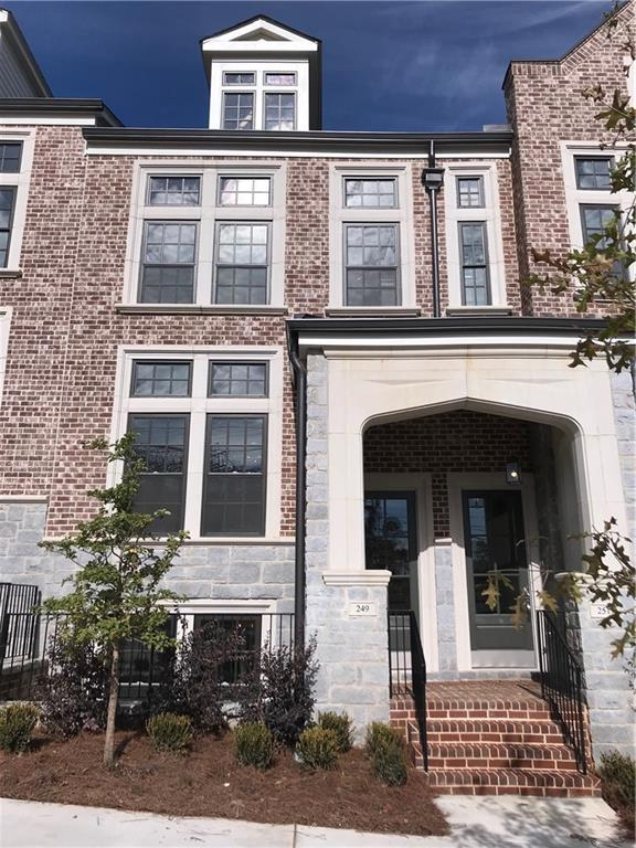 249 Devin Place NE #31, Atlanta, GA 30305 (MLS #6505004) :: The Cowan Connection Team
