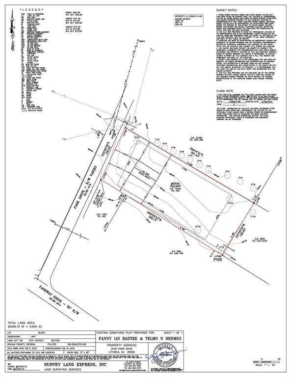 2534 Park Drive, Lithonia, GA 30058 (MLS #6506217) :: KELLY+CO