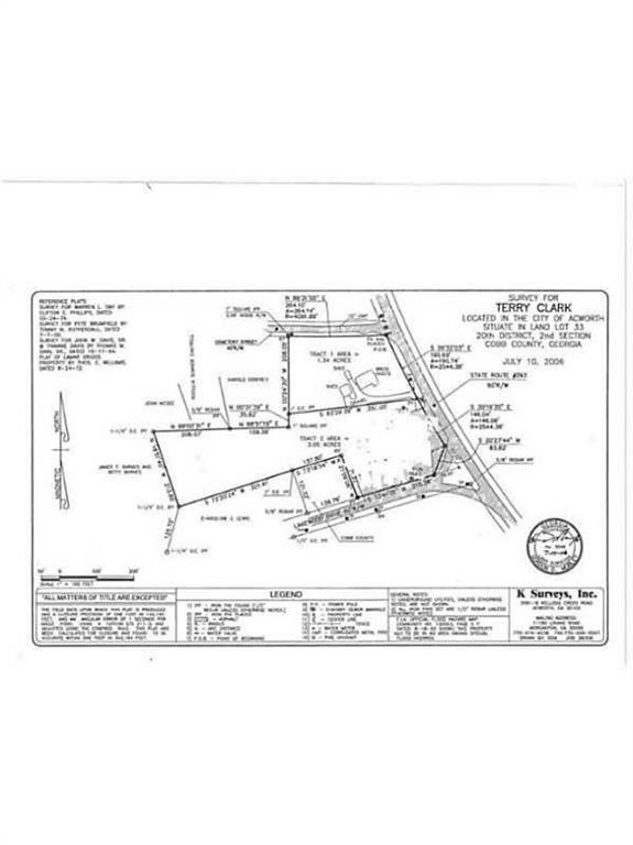 5195 N Main Street, Acworth, GA 30101 (MLS #6508909) :: Kennesaw Life Real Estate