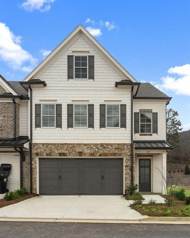 569 NW Stone Field Run, Marietta, GA 30060 (MLS #6524298) :: Iconic Living Real Estate Professionals