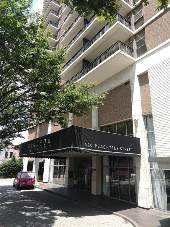 620 Peachtree Street NE #604, Atlanta, GA 30308 (MLS #6556518) :: The Zac Team @ RE/MAX Metro Atlanta
