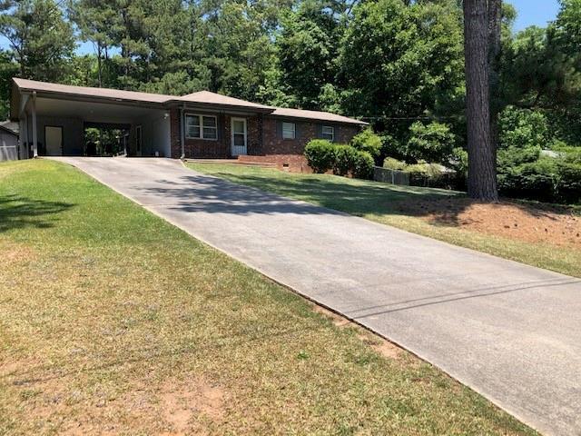 4830 Shady Rest Drive, Powder Springs, GA 30127 (MLS #6559390) :: The Heyl Group at Keller Williams