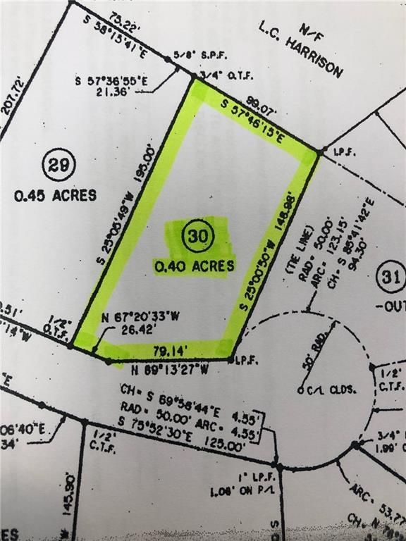 0 Hidden Pond Lot 30, Gainesville, GA 30506 (MLS #6560552) :: North Atlanta Home Team
