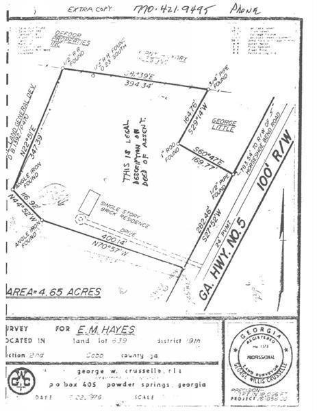 2318 Powder Springs Road, Marietta, GA 30064 (MLS #6567707) :: North Atlanta Home Team