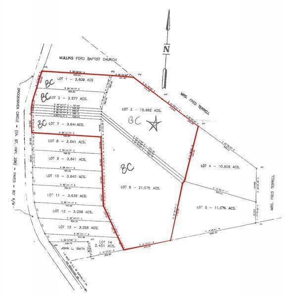 0 Brookhaven Cir, Toccoa, GA 30577 (MLS #6568986) :: Dillard and Company Realty Group