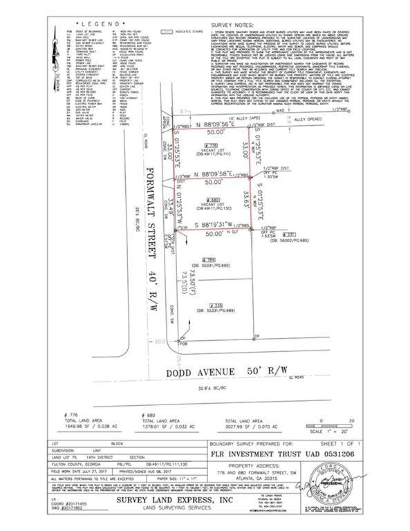 680 Formwalt Street SW, Atlanta, GA 30315 (MLS #6576972) :: The Heyl Group at Keller Williams