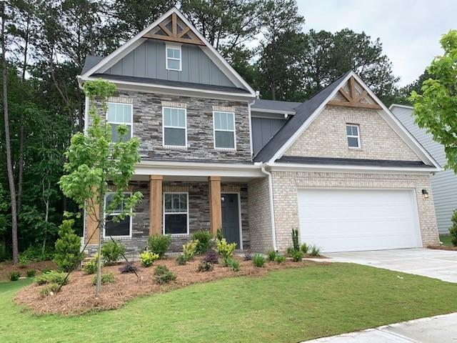 348 Reserve Overlook, Holly Springs, GA 30115 (MLS #6589112) :: The Zac Team @ RE/MAX Metro Atlanta