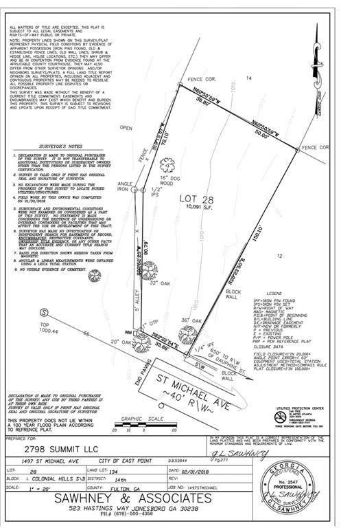 1497 Saint Michael Avenue, East Point, GA 30344 (MLS #6597859) :: RE/MAX Paramount Properties