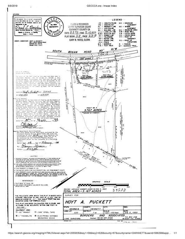 0 S Bogan Road, Buford, GA 30519 (MLS #6600220) :: RE/MAX Paramount Properties