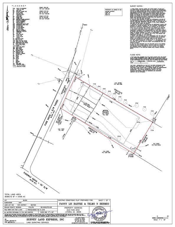 2534 Park Drive, Lithonia, GA 30058 (MLS #6605682) :: RE/MAX Paramount Properties