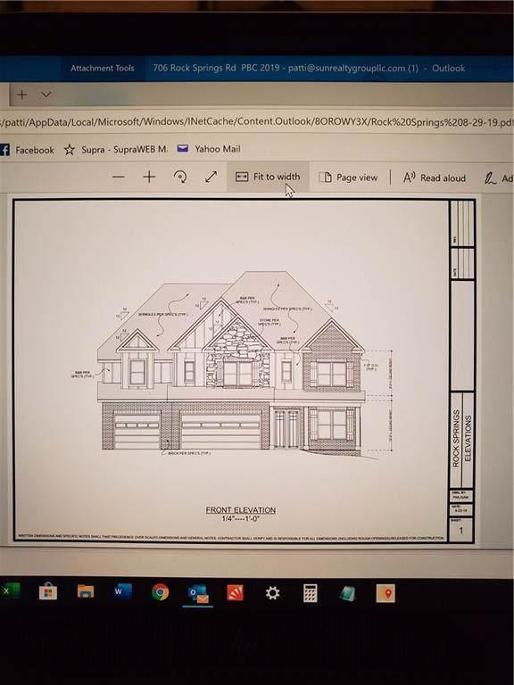 706 Rock Springs Road, Lawrenceville, GA 30043 (MLS #6617753) :: Path & Post Real Estate