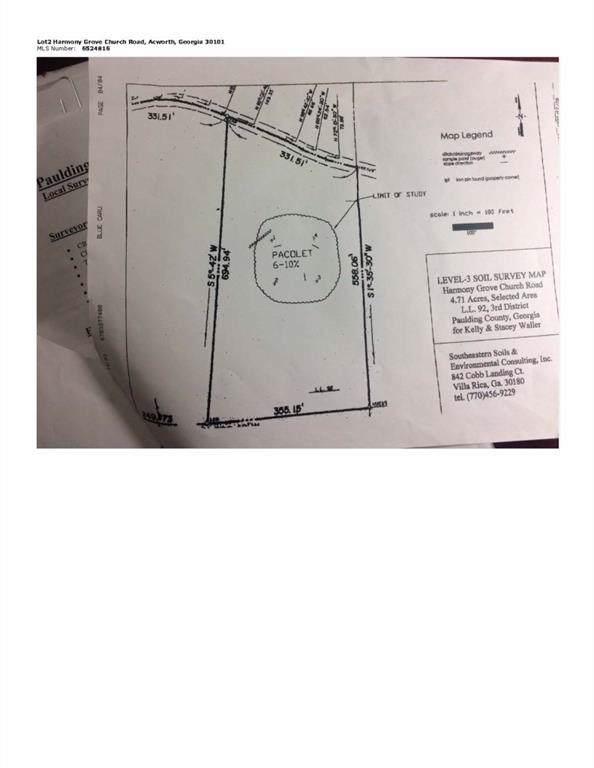0 Harmony Grove Church Road, Acworth, GA 30101 (MLS #6618237) :: Path & Post Real Estate