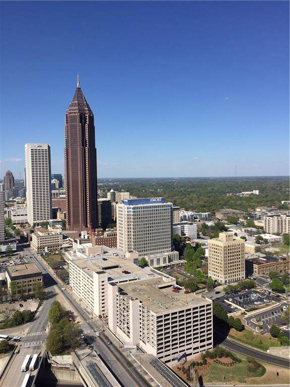 400 W Peachtree Street NW #3802, Atlanta, GA 30308 (MLS #6624508) :: Good Living Real Estate