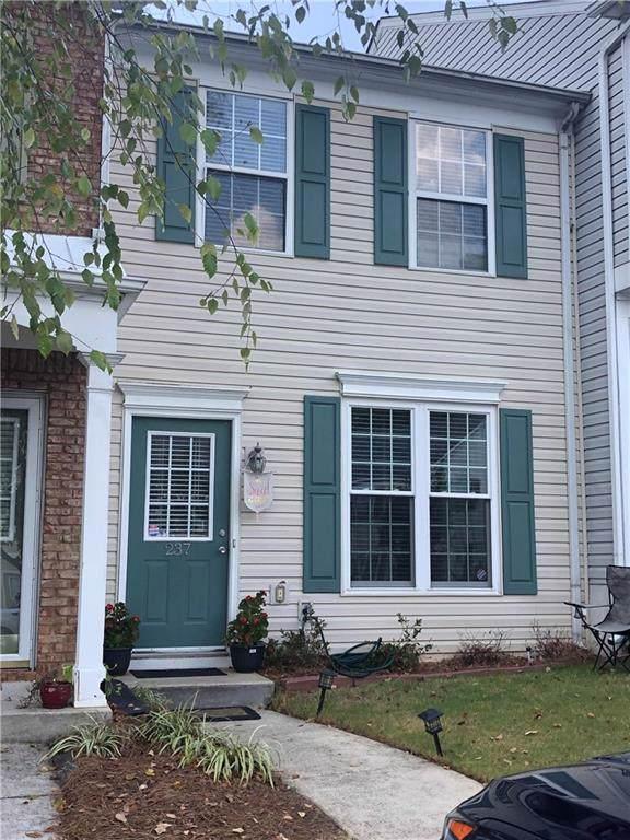 237 Buckland Drive #237, Alpharetta, GA 30022 (MLS #6626085) :: North Atlanta Home Team