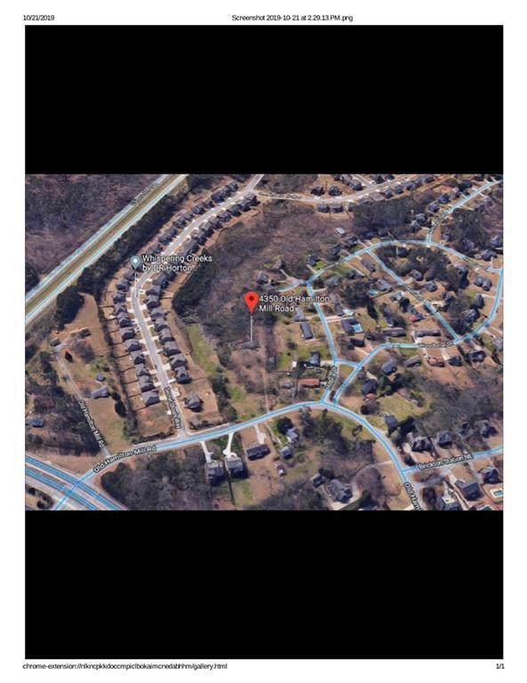 4350 Old Hamilton Mill Road, Buford, GA 30518 (MLS #6633413) :: The North Georgia Group