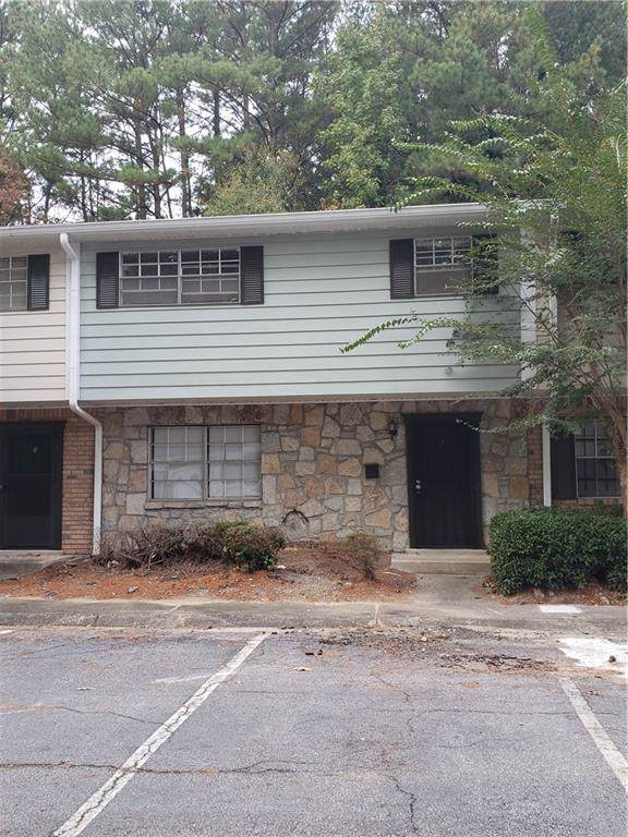 4701 Flat Shoals Road 58G, Union City, GA 30291 (MLS #6647065) :: The North Georgia Group